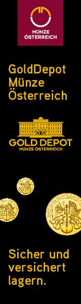 Golddepot Münze Österreich - sicher lagern