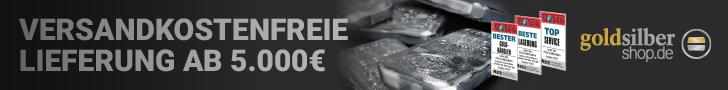 GoldSilberShop - Versandkostenfrei ab 5000 Euro