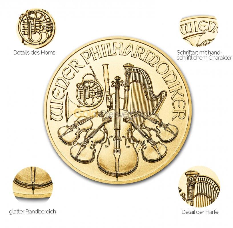 Wiener Philharmoniker Gold Preisvergleich Goldmünzen Günstig Kaufen