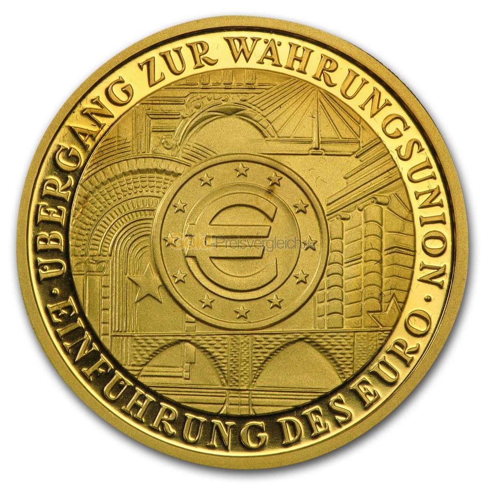 Euro Goldmünzen Preisvergleich Deutschland Goldeuro 100 Euro