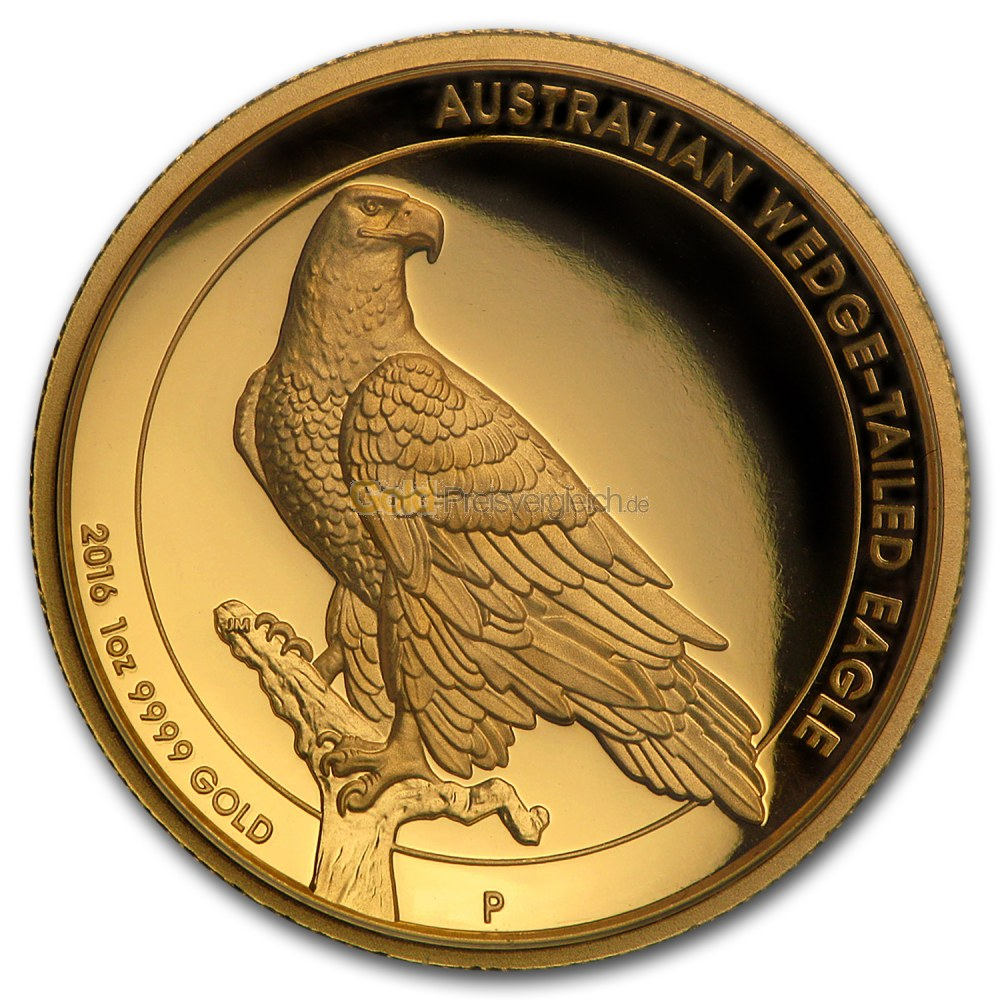wedge tailed eagle gold preisvergleich goldm nzen g nstig. Black Bedroom Furniture Sets. Home Design Ideas