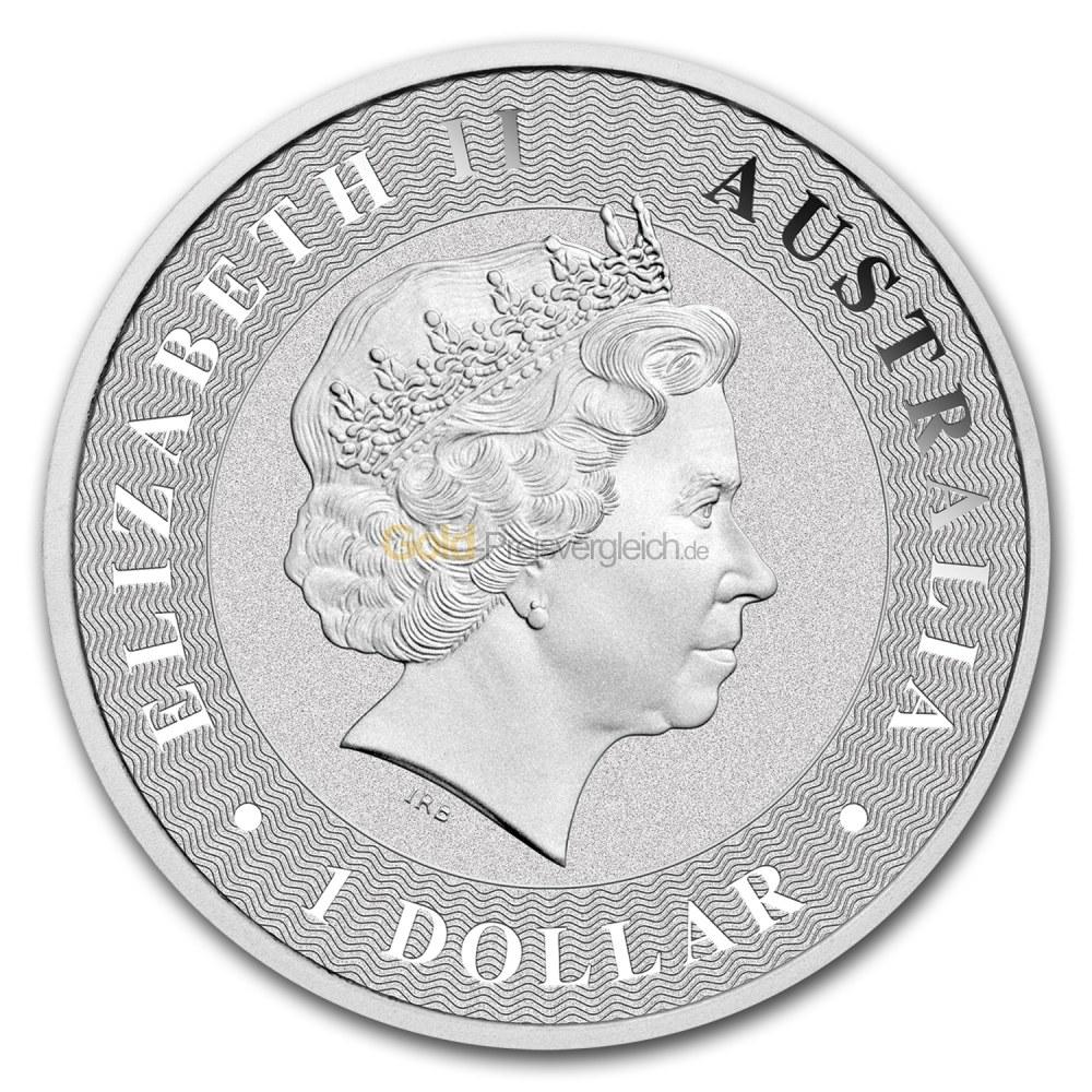 Queen-Portrait auf der Australian Kangaroo bis 2018
