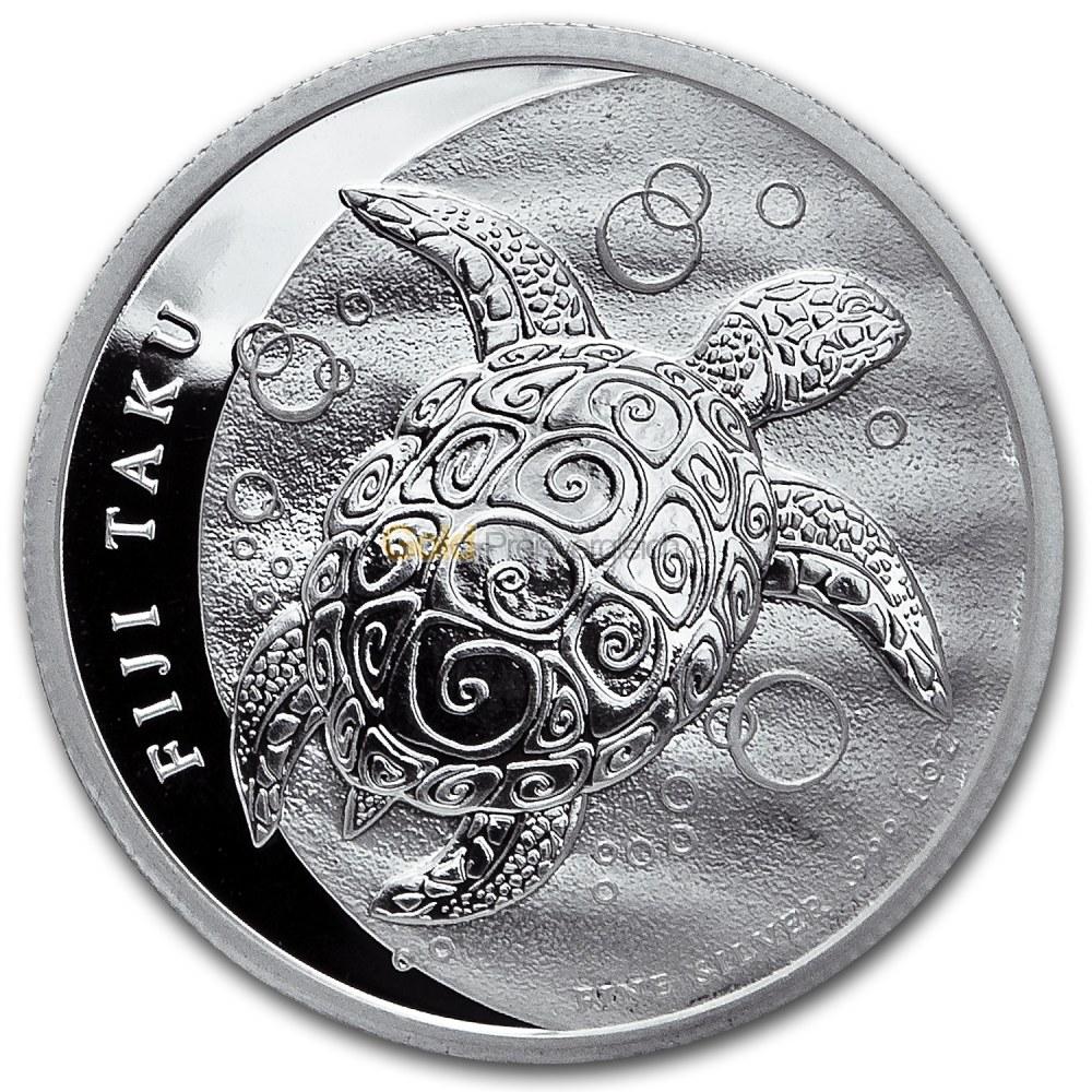 Fiji Taku Schildkröte Silber Preisvergleich Silbermünzen Günstig Kaufen
