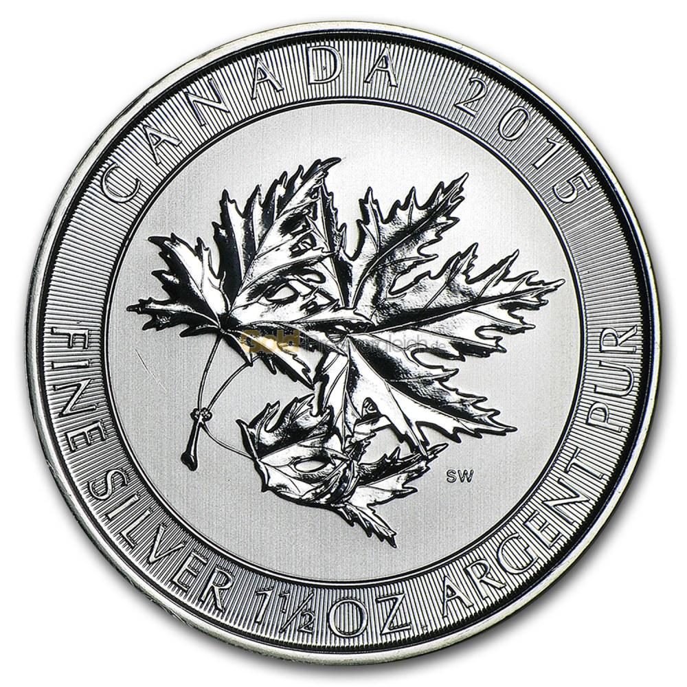 Maple Leaf SuperLeaf Revers
