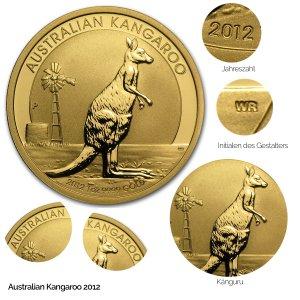 Australian Kangaroo Gold 2012