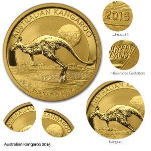 Australian Kangaroo Gold 2015