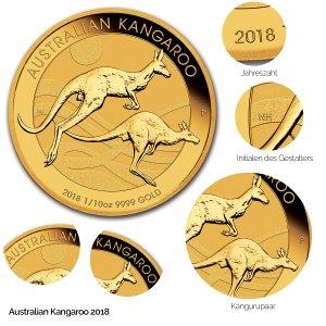 Australian Kangaroo Gold 2018
