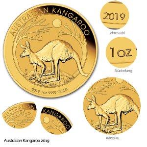 Australian Kangaroo Gold 2019