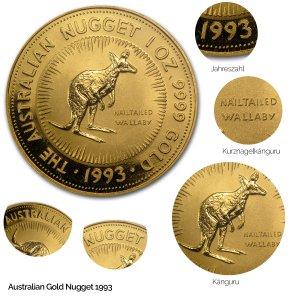 Australian Nugget Gold 1993