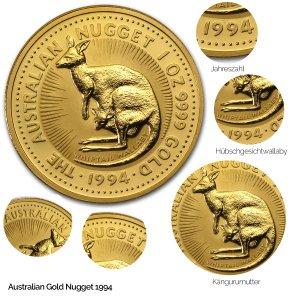 Australian Nugget Gold 1994