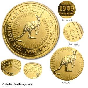 Australian Nugget Gold 1995
