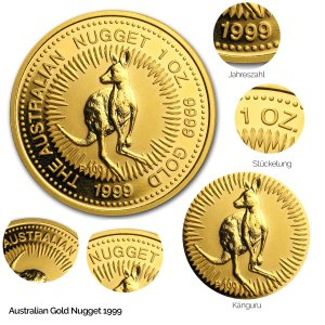 Australian Nugget Gold 1999