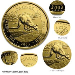 Australian Nugget Gold 2003