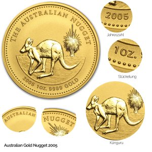 Australian Nugget Gold 2005