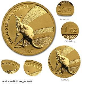 Australian Nugget Gold 2007