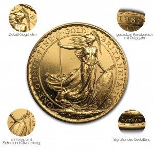 Britannia Gold 1987