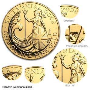 Britannia Gold 2008