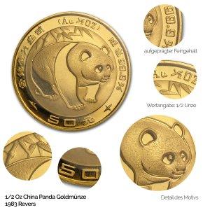 China Panda Gold 1983