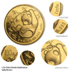 China Panda Gold 1985