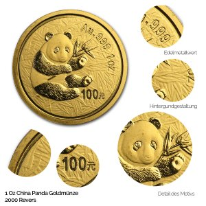 China Panda Gold 2000