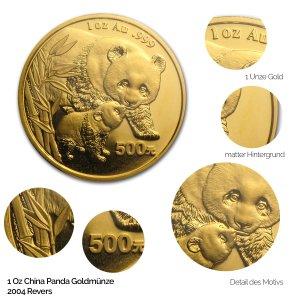 China Panda Gold 2004