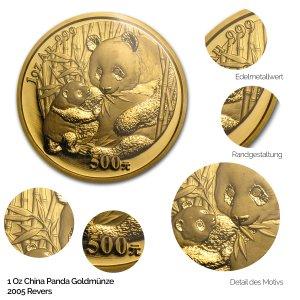 China Panda Gold 2005