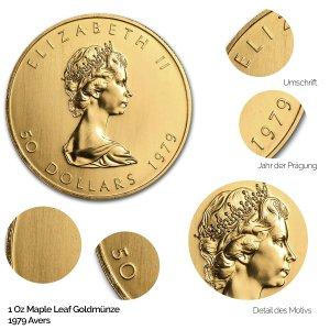 Maple Leaf Gold Avers 1979