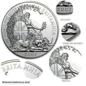 Britannia Silber 2007