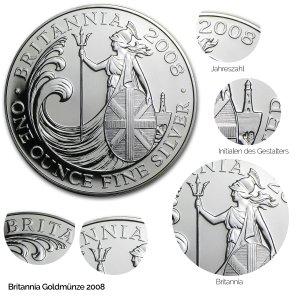 Britannia Silber 2008
