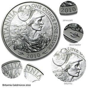 Britannia Silber 2010