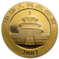 China Panda Gold Avers 2007