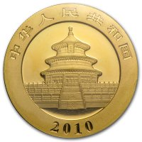 China Panda Gold Avers 2010