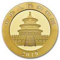 China Panda Gold Avers 2019