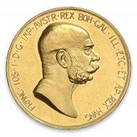 Historische 100 Kronen Goldmünze Revers