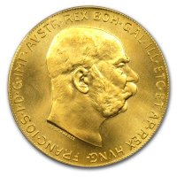 Gold 100 Kronen Goldkrone