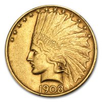 Gold 10 $ Indian Head