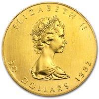 Maple Leaf Gold Avers 1982