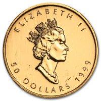 Maple Leaf Gold Avers 1999