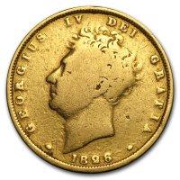 Gold Sovereign von 1826 - Avers