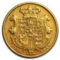 Gold Sovereign von 1832 - William IV - Revers