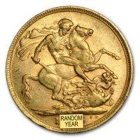 Gold Sovereign von 1893-1901 - Victoria Old Head - Revers