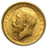 Gold Sovereign von 1911-1925 - Georg V - Avers