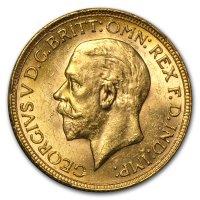 Gold Sovereign von 1925-1932 - Georg V - Avers