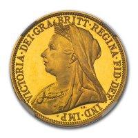 Double Sovereign von 1893 - Avers