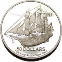 Palladium 1 oz Cook Islands