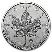 Palladium 1 oz Maple Leaf
