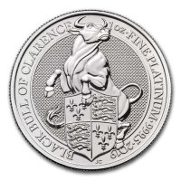 Platin 1 oz The Queens Beasts