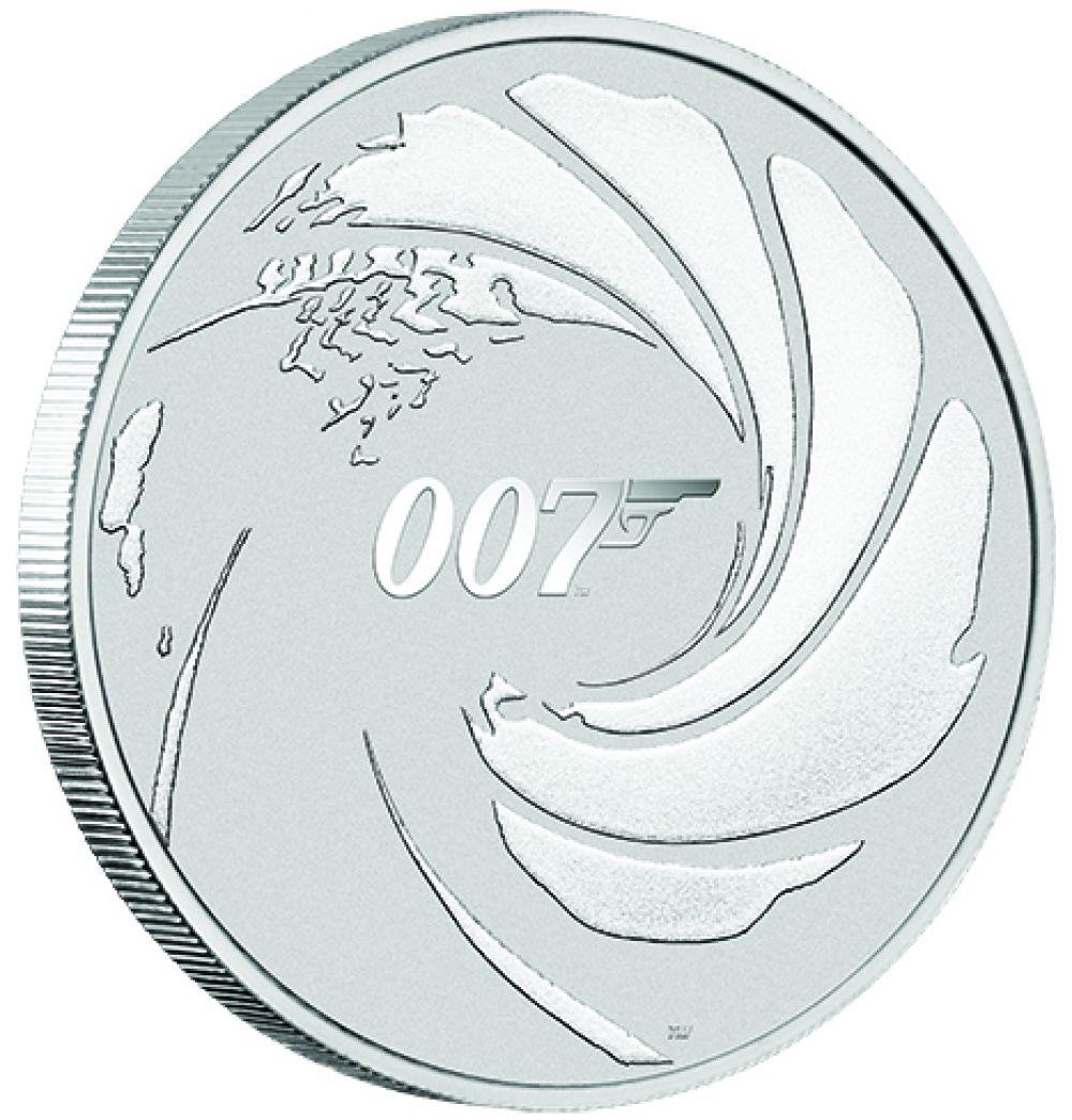 James Bond 007 Münze