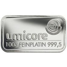 Platinbarren preis  Platinbarren Preisvergleich: 100 Gramm Platin kaufen