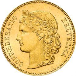 Gold Helvetia